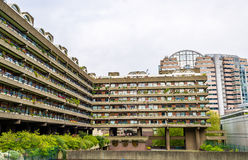 View of Barbican complex in London Stock Image