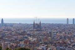 View of Barcelona Stock Photos