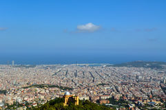 View of Barcelona Stock Image