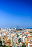 View barcelona Stock Photography