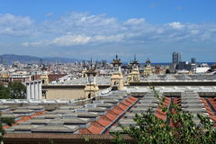 View of Barcelona Stock Photos