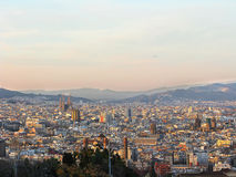 View of Barcelona Royalty Free Stock Photos