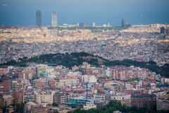 View on Barcelona Stock Images