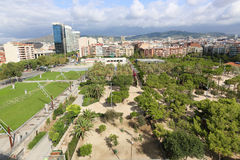 View of Barcelona Royalty Free Stock Photography
