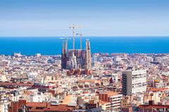 View of Barcelona. Catalonia Stock Image