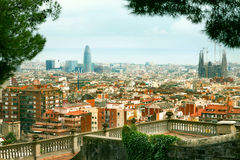 View of Barcelona city. Spain Stock Photo