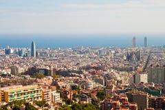 View of Barcelona Stock Photo