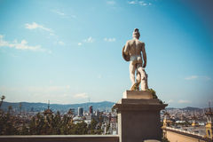 View of Barcelona Royalty Free Stock Photo