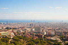 View of Barcelona Stock Images