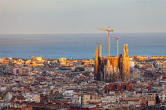 View of Barcelona Stock Photography