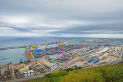 View of Barcelona Port Royalty Free Stock Photography