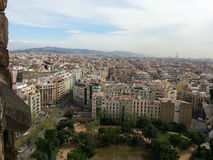 View on Barcelona Royalty Free Stock Photography