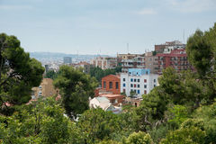 View of Barcelona Spain Royalty Free Stock Photography