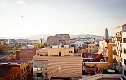 View of Barcelona, Spain. Stock Photography