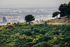 View in Barcelona Royalty Free Stock Photography