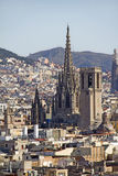 View of Barcelona, Spain Stock Image