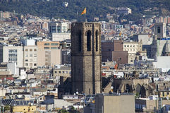 View of Barcelona, Spain Royalty Free Stock Photos