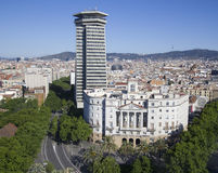 View of Barcelona, Spain Royalty Free Stock Image