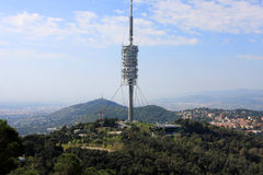 View of Barcelona from Tibidabo Royalty Free Stock Photo