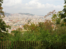 View of Barcelona. Royalty Free Stock Photography