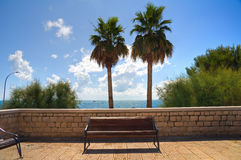 View of Bari. Puglia. Italy. Royalty Free Stock Photography