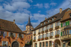 View of Barr, Alsace, France Royalty Free Stock Images