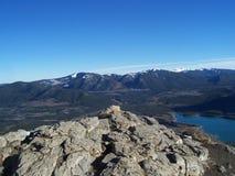 Barrier Lake Stock Photo