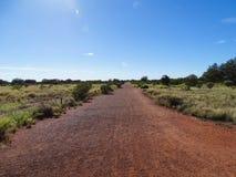 A view of the base walk trail, Uluru, Northern Territory. Australia royalty free stock photos