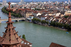 View of Basel, Switzerland Royalty Free Stock Photography