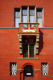 View of Basel Town Hall, Switzerland. Royalty Free Stock Images