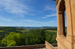 View from Basilica di S.Luca Royalty Free Stock Photo