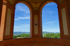 View from Basilica di S.Luca Stock Photography