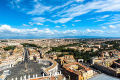 View of Basilica di San Pietro in Vaticano Royalty Free Stock Images