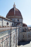 View of Basilica di Santa Maria del Fiore in Florence from bell tower Stock Photo