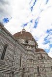 View of Basilica di Santa Maria del Fiore in Florence in Italy Stock Photo