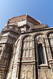 View of Basilica di Santa Maria del Fiore in Florence Stock Images