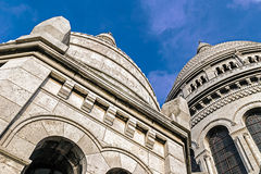View of Basilica Sacre Coeur Royalty Free Stock Photo