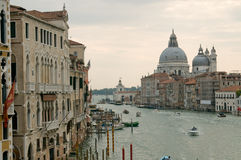 View of Basilica Saint Maria della Salute Royalty Free Stock Photography
