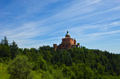 View of Basilica of San Luca Stock Images