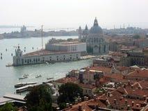 View of the Basilica of Santa Maria Della Salute stock images