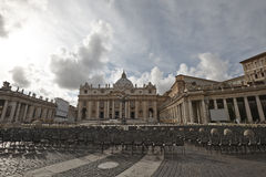 View on the Basilica of St. Peter Stock Image
