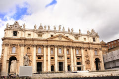 View on the Basilica of St. Peter, Vatican Royalty Free Stock Photography
