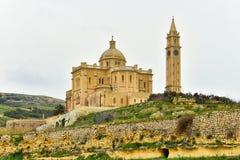 Ta Pinu basilica, Malta, Gozo island Royalty Free Stock Image