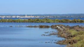 Bassin de Thau stock images