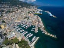 View of the Bastia Royalty Free Stock Photo