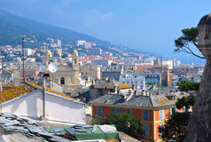 View of Bastia Stock Photography