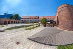 View of the bastion Maria Theresia from Timisoara, Romania Royalty Free Stock Photo