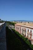 View of Bastione Saint Remy at Cagliari, in Sardinia Royalty Free Stock Image