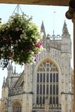 Bath Abbey, Bath, England UK stock photography