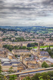 View at Bath town Stock Image